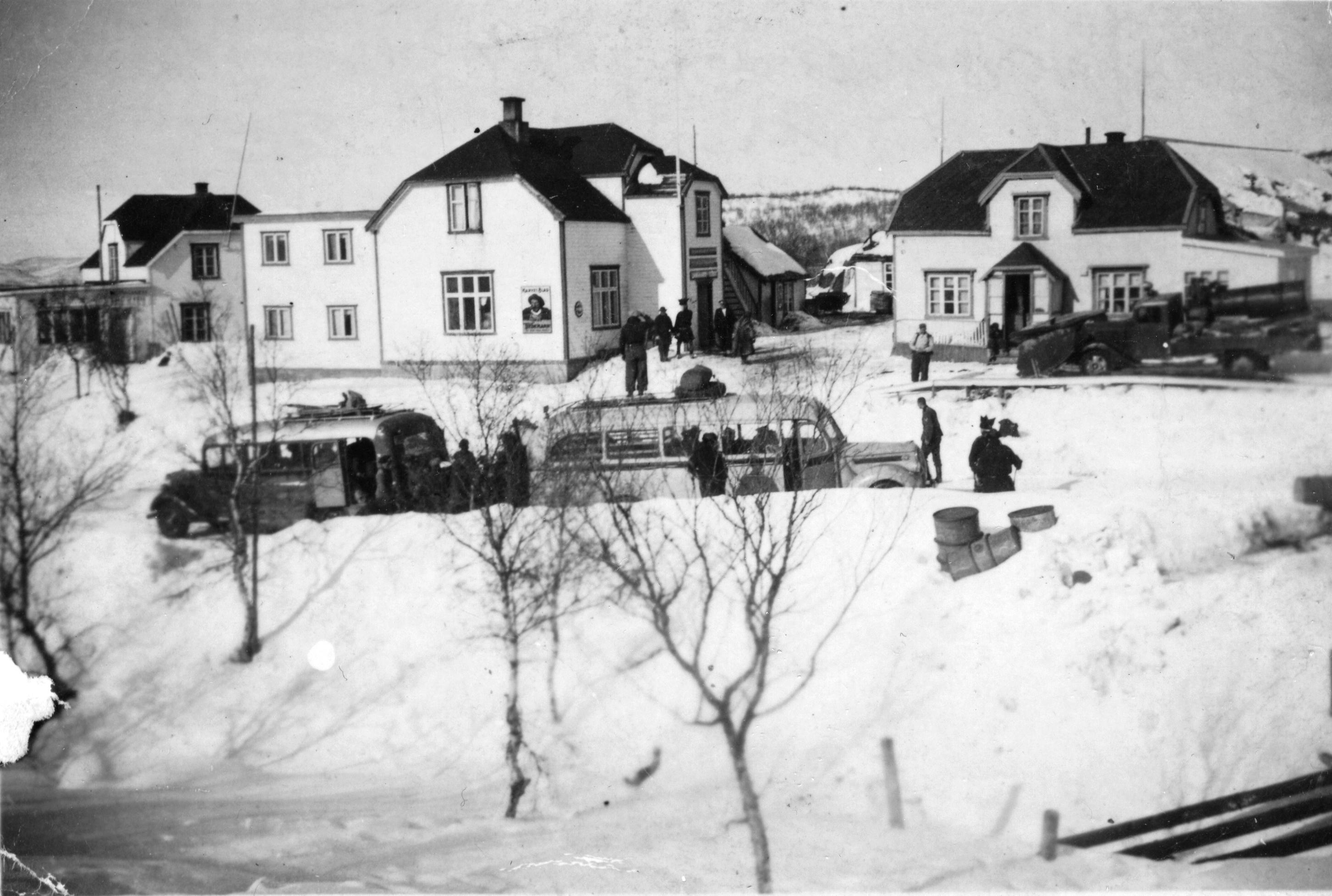 Handelsstedet Skipagurra under krigen