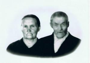 Jakob og Julianna Elmine Lanto, f. Imbola. Jakob Johansen Lanto var på veianlegget i Tana i 1895. Han hadde da vært fem år i Norge.