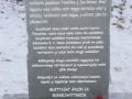 Minneteksten på samisk.
